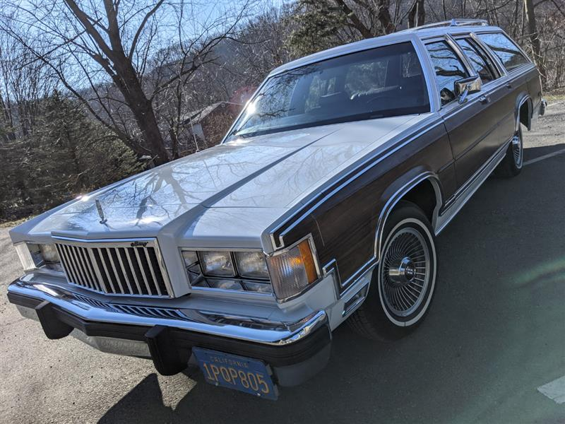 1986 MERCURY GRAND MARQUIS Colony Park LS