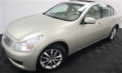 2007 INFINITI G35 Sedan X NAVIGATION AWD