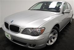 2007 BMW 7 SERIES 750Li with Navigation and Rear Entertainment