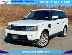 2011 LAND ROVER RANGE ROVER SPORT SPORTS HSE LUXURY