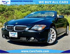 2007 BMW 6 SERIES 650I SPORT CONVERTIBLE
