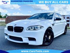 2015 BMW M5 F10 M5 COMPETITION PKG