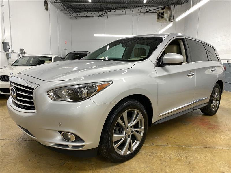 2013 INFINITI JX35 AWD W/ THEATER PACKAGE