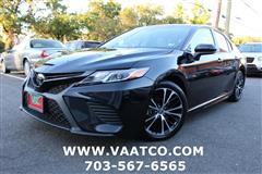 2018 TOYOTA CAMRY XSE **LOW MILES // GREAT PRICE // FINANCNING AVAIL