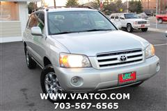 2005 TOYOTA HIGHLANDER AWD V6 w/3rd Row