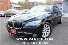 2010 BMW 7 SERIES 750i