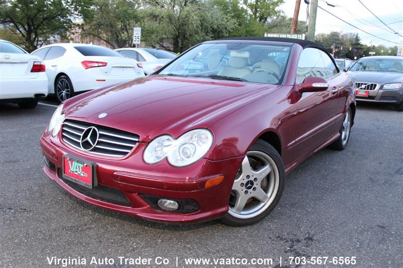 2004 MERCEDES-BENZ CLK-CLASS Cabriolet 5.0L
