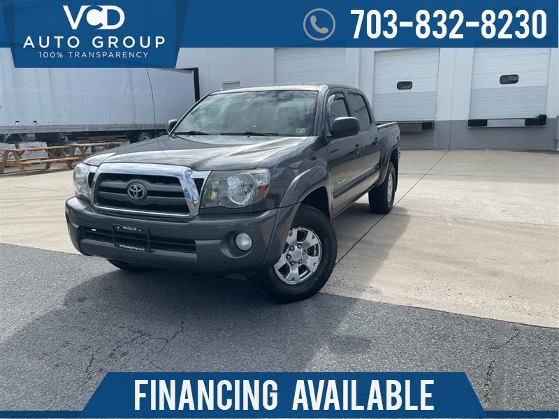 2010 TOYOTA TACOMA DOUBLE CAB 4WD V6 w/TRD OFF ROAD PACKAGE SR5
